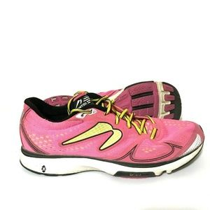 Newton Fate Womens Running Shoes Sneakers Pink
